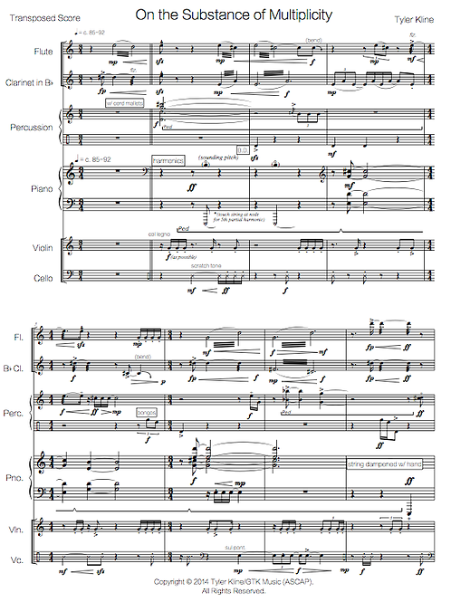 On the Substance of Multiplicity (Pierrot+ ensemble)