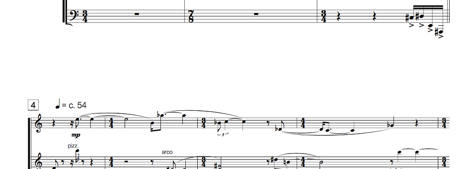 Blood Moon (clarinet in Bb + piano + violin + cello)