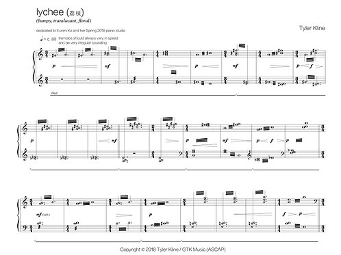 Orchard: a collection of 50 short solo piano pieces