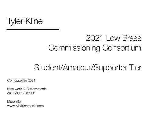 2021 Low Brass Commissioning Consortium (Student Level)