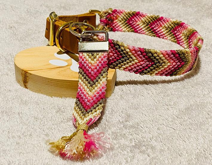 Freundschaftsband Stil Set Hundehalsband und Schlüsselanhänger