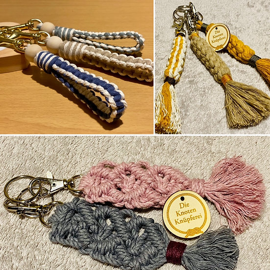 Schlüsselanhänger im Boho Style