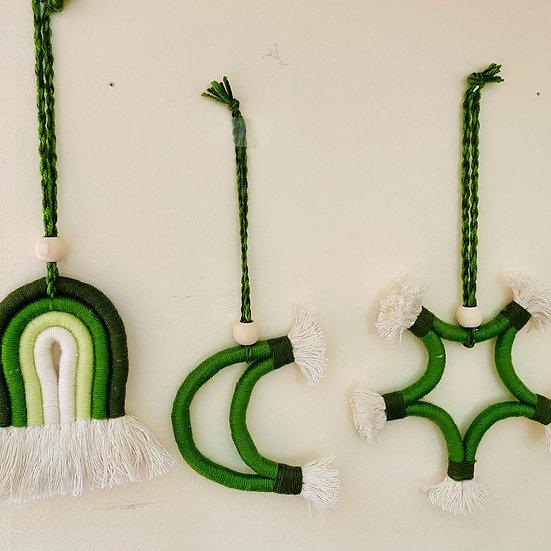 dekoratives Boho Set