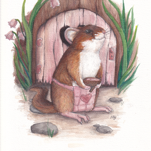 Dormouse and Home