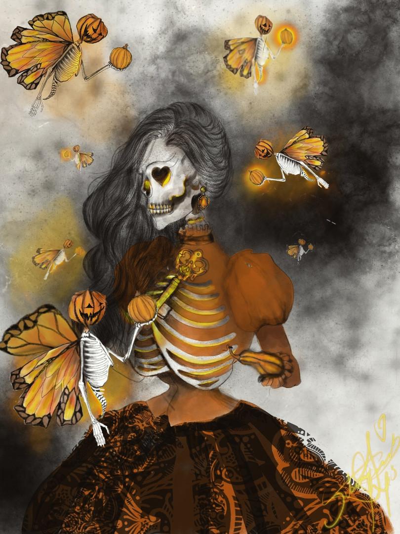 The Pumpkin Queen.