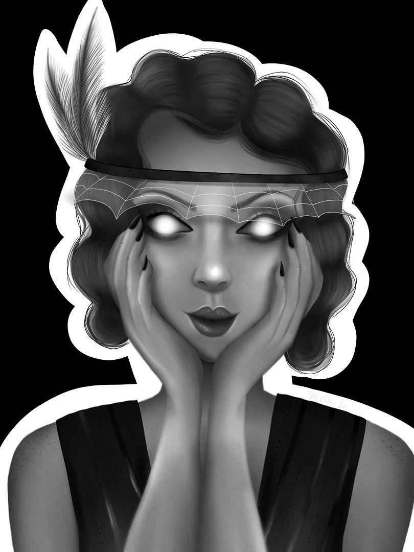 Halloween Flapper