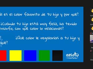 Emocionario: Reconociendo las emociones a través de los colores
