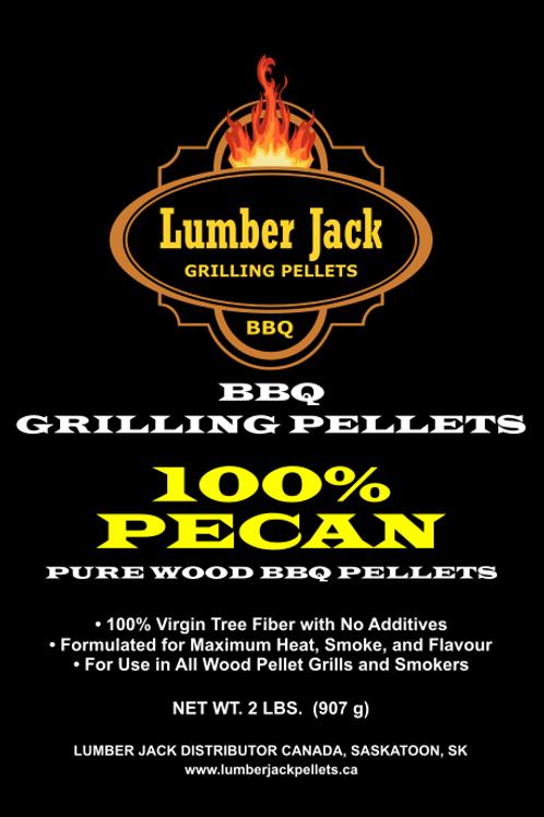 100% Pecan Wood BBQ Pellets (20lbs)