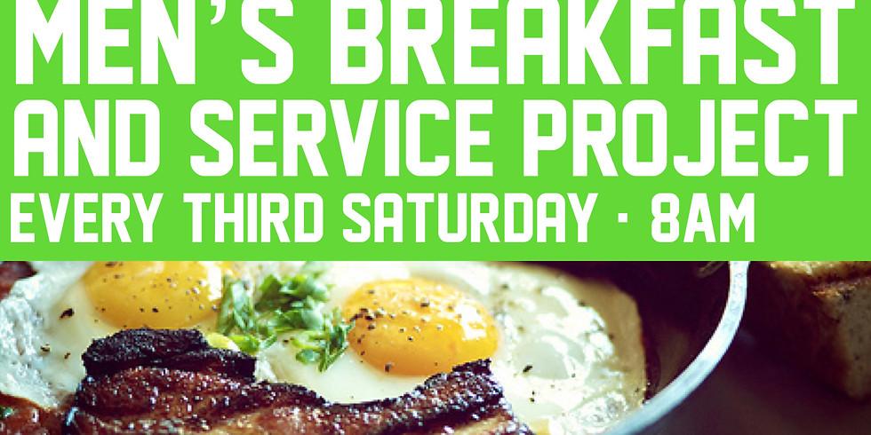 Men's Breakfast and Work Day
