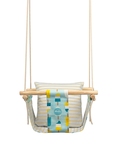 Blue & Yellow Popsicle BabySwing