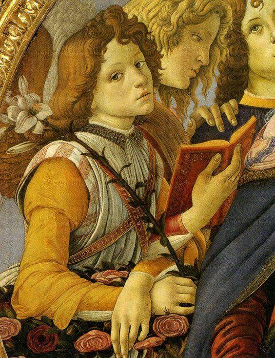 """Madonna of the Pomegranate"" (Botticelli)"