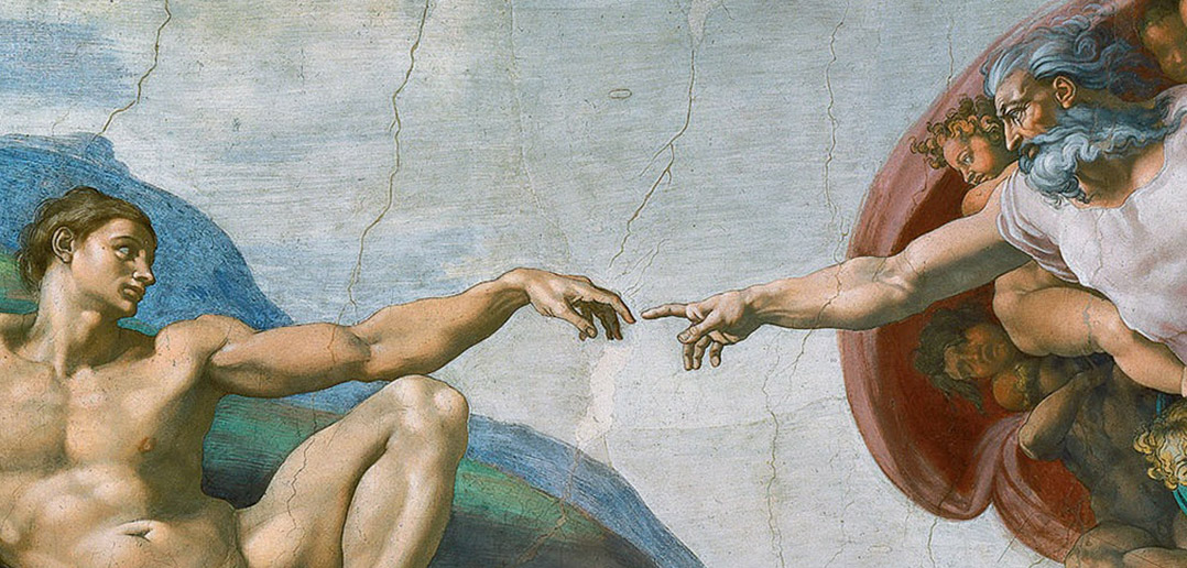 """Creation of Adam"" (Michelangelo)"