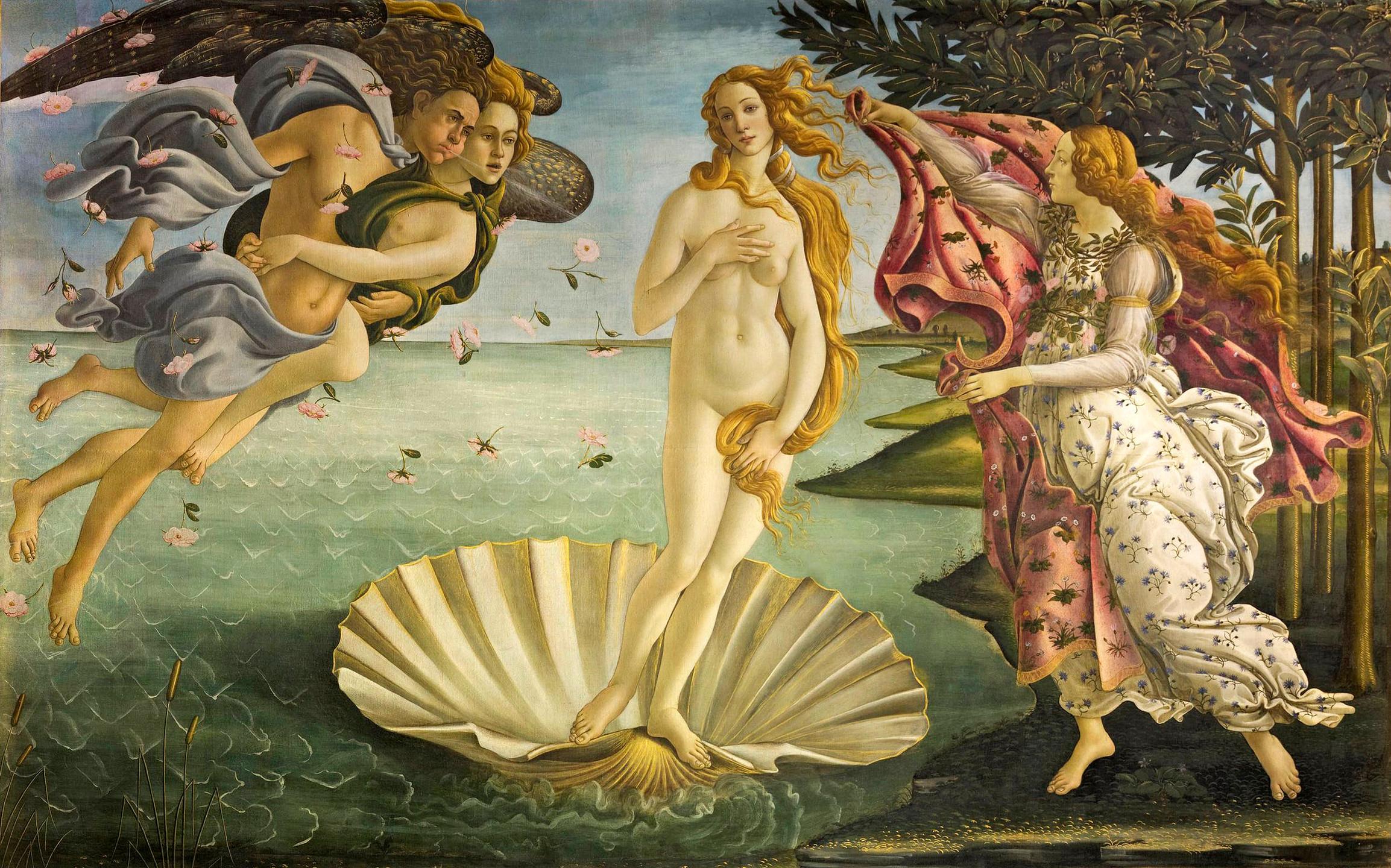 """The Birth of Venus"" (Botticelli)"
