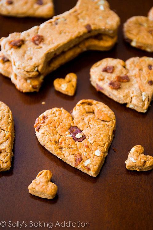 Chubby Puppy Organics - Bacon & Peanut Butter Treats (10 Large)