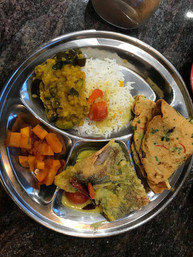 Vegetarisches Thali