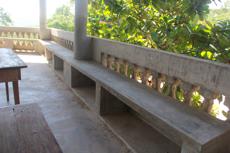 Built in benches!