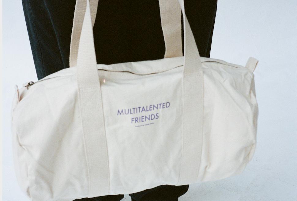 multitalented friends bag