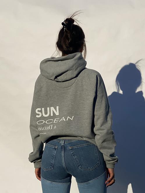 """"""" sun and ocean"""" - hoodie"""