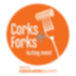 Corks and Forks Logo