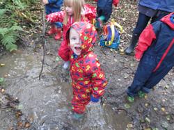 Fun exploring the stream