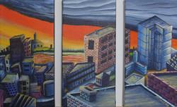 Evening City (3-panel)