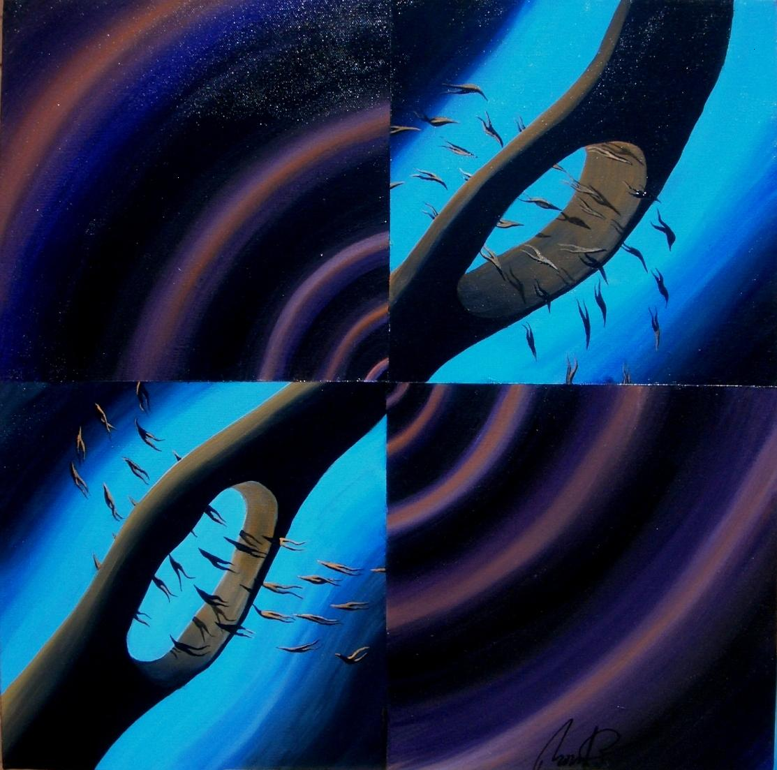 Microsystem in Violet & Blue (2002)