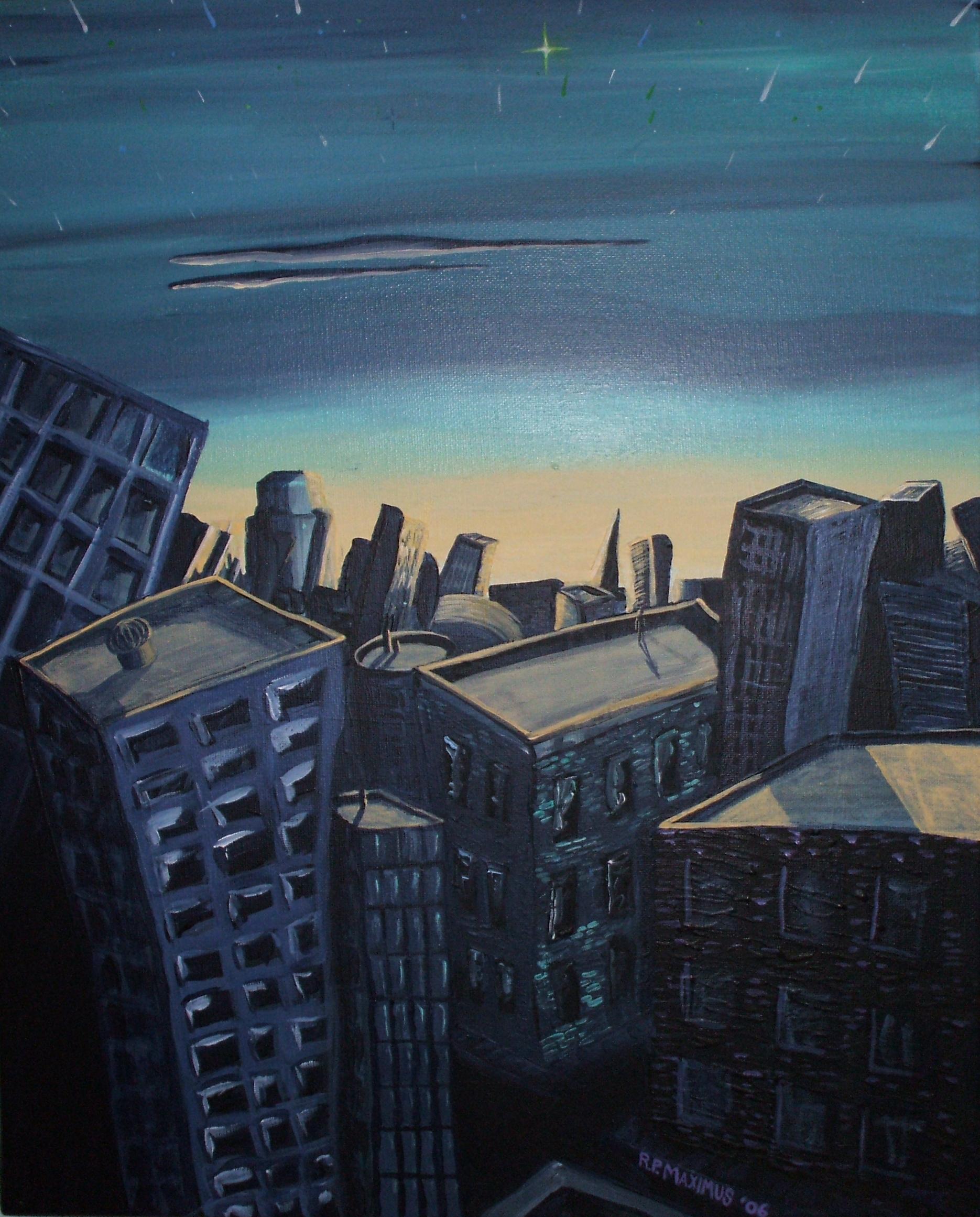 City at Dusk (2005)