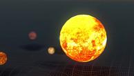 Planetary System Gravity Simulation v6.m