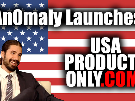 An0maly Launches USAProductsOnly.com To Support US Businesses!