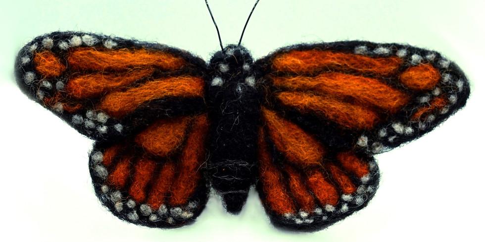 Needle Felt a Butterfly