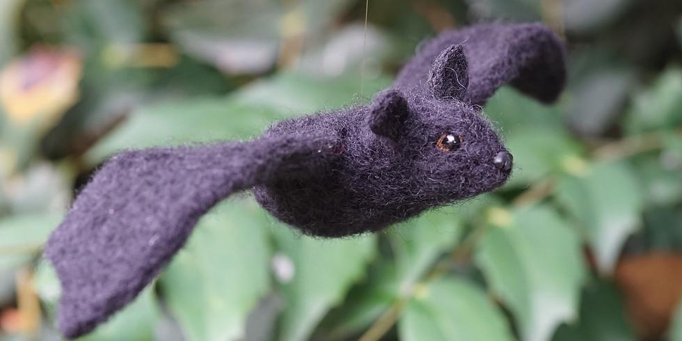 Needle Felt a Bat