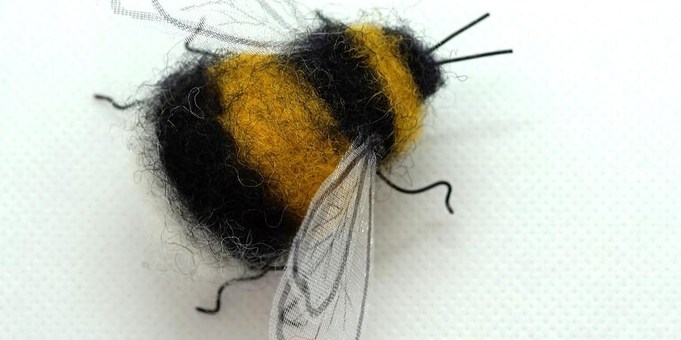 Needle Felt Your Own Bumble Bee
