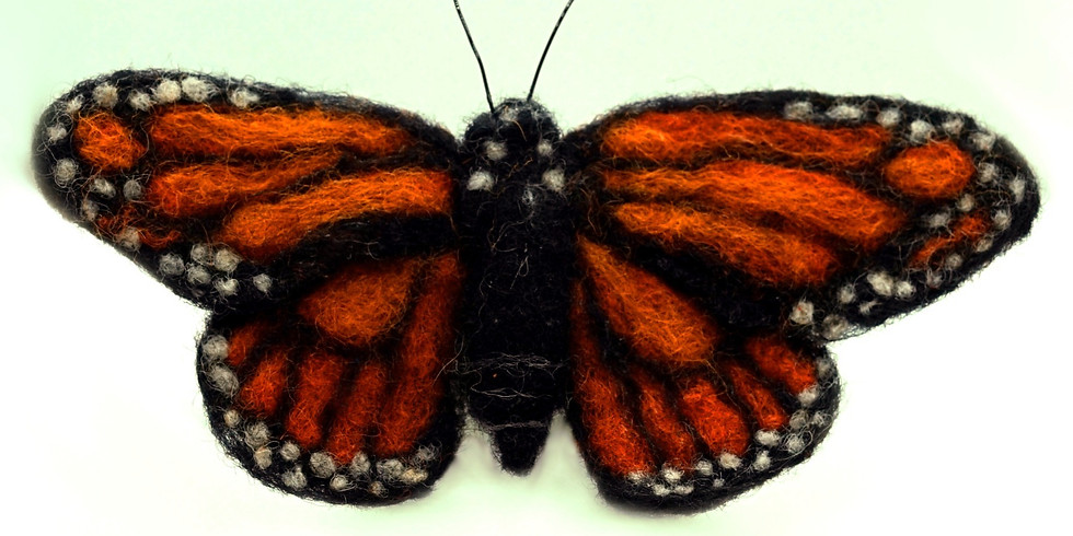 Needle Felt Your Own Butterfly