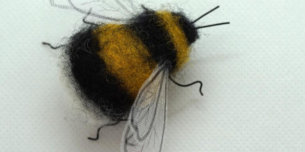 Needle Felt a Bumble Bee
