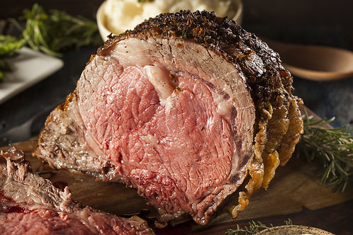 Slow Roasted Prime Rib Au Jus