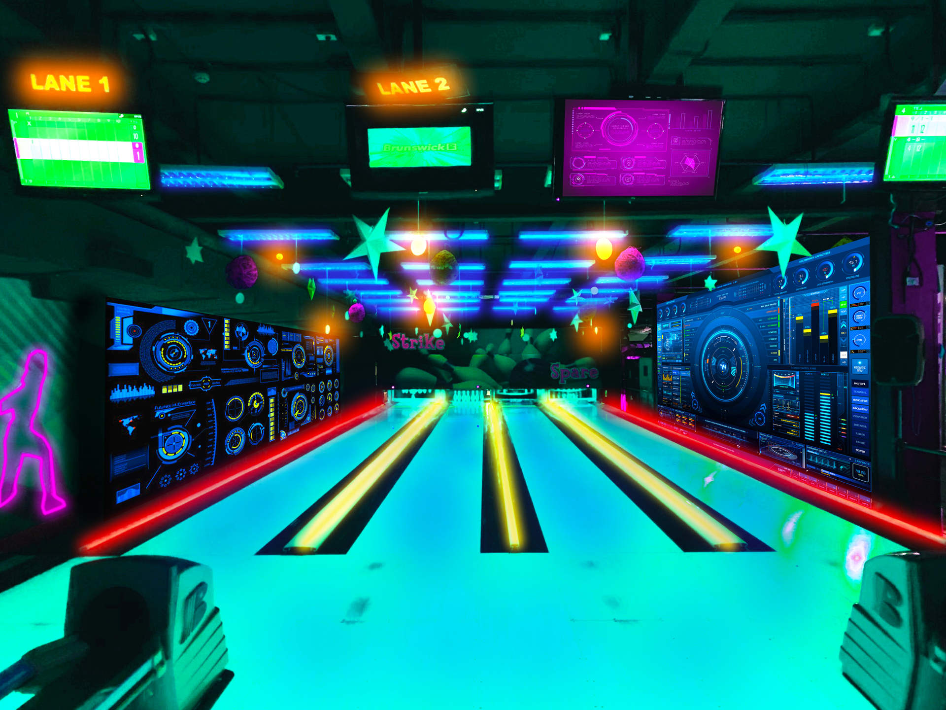 Let's go Bowling in 2077