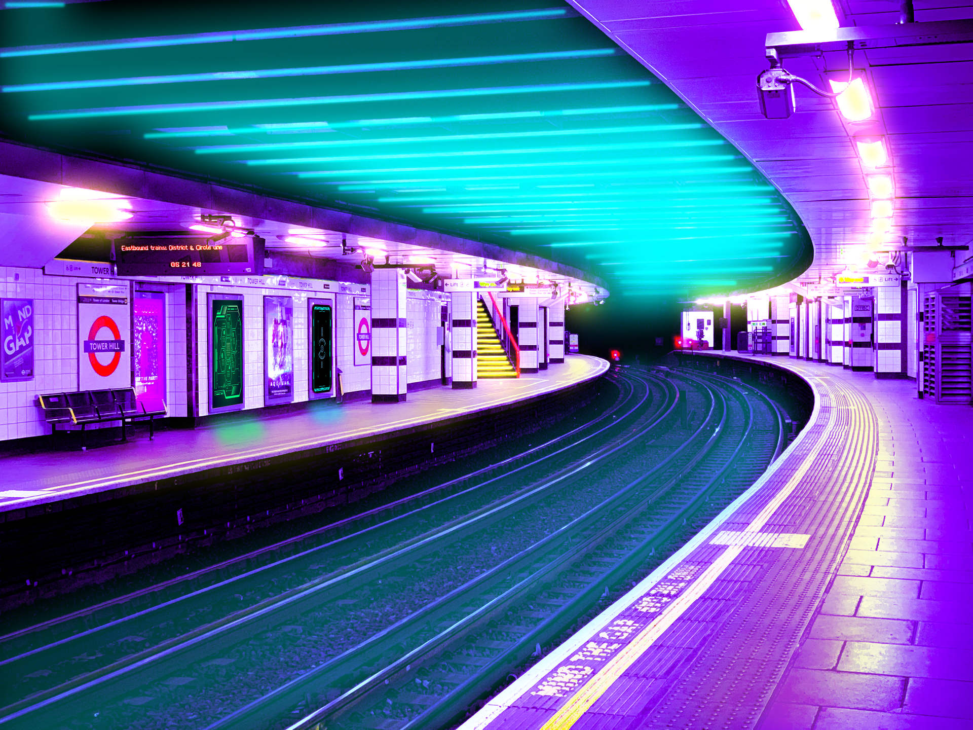 Tower Hill Station, London, 2077