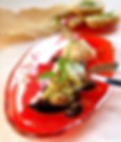 グラススタジオ, glass studio, glassstudio, テーブルコーデ, テーブルセッティング, 盛り付け, 食器 赤, 赤, ガラス食器