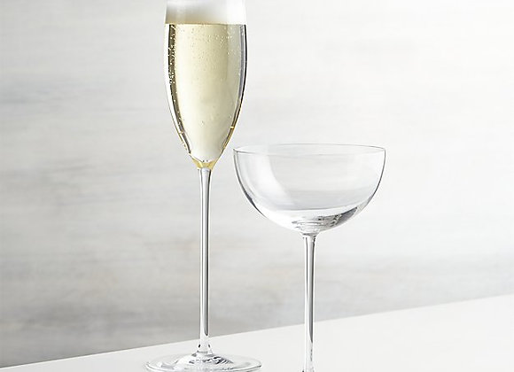 【お取り寄せ品】Crate&Barrel / Camille Long Stem Champagne Glass