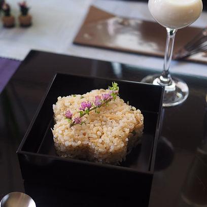 桜テーブルコーディネート, 桜テーブル, お花見テーブルコーディネート, 茶碗蒸し