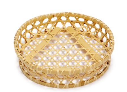 竹籠+豆皿セット