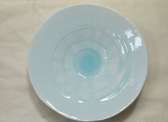 【お取り寄せ品】宝寿窯/雫釉高台皿