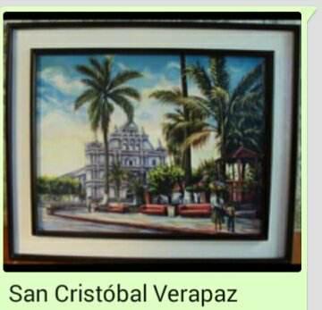 Pintura Parque Central San Cristóbal