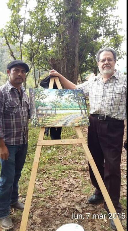 Junto a Manuel Gallardo