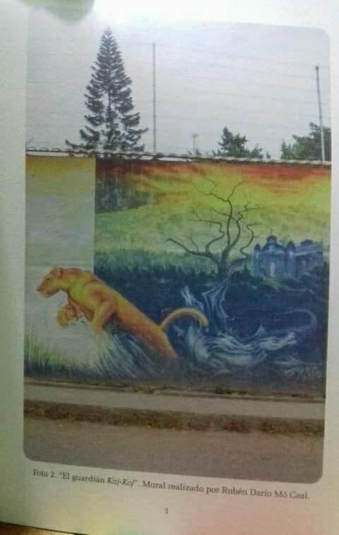 Mural Guardian de Kajkoj