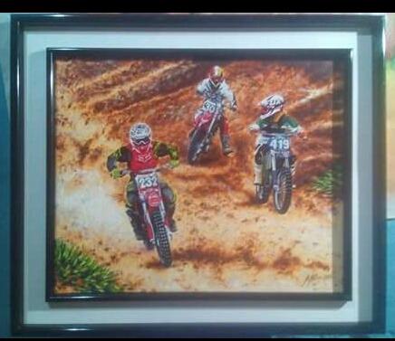 Pintura Moto Cross