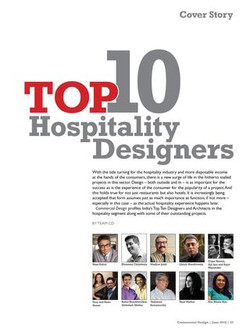 Commercial Design - Top 10 Hospitality