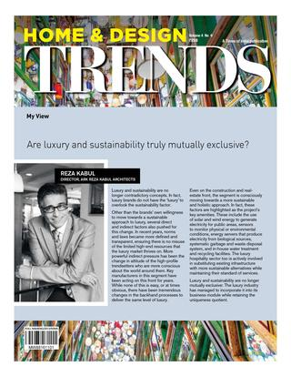 Home & Design Trends - Luxury & Sustainability