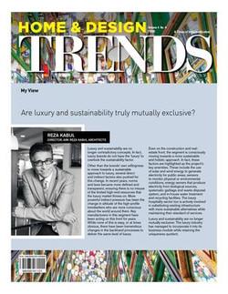 Home & Design Trends - Luxury & Sustainability