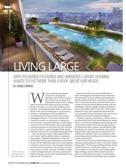 Architect & Interiors India - Lurxury Housing